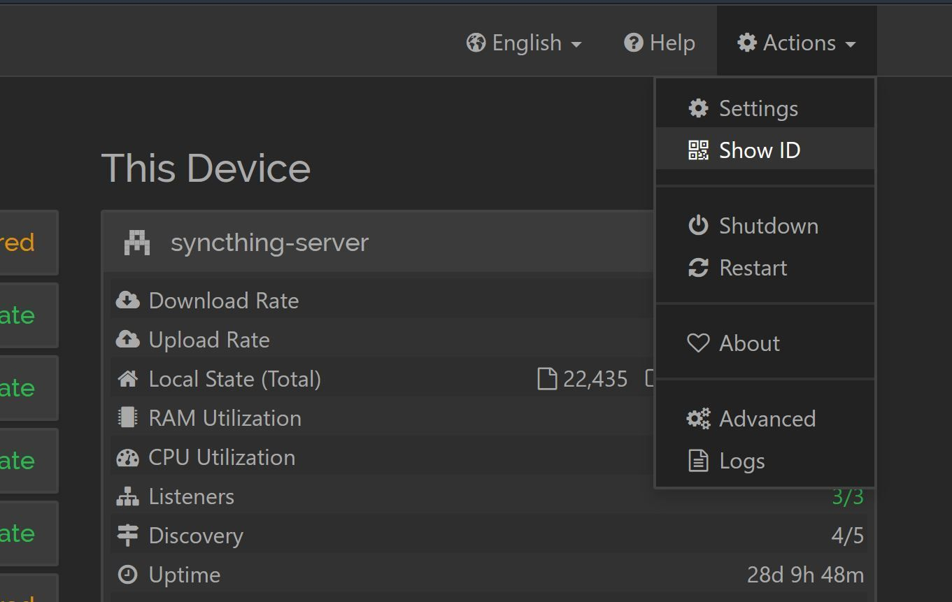 syncthing-device-id
